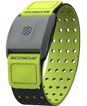 Scosche RHYTHM+ merač tepu a športtester pre Android a iOS na predlaktie, HR monitor, zelený ramienok