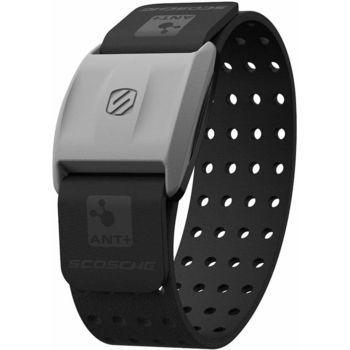 Scosche RHYTHM + merač tepu a športtester pre Android a iOS na predlaktie, HR monitor, čierny opasok