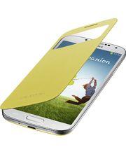 Samsung flipové puzdro S-view EF-CI950BY pre Galaxy S4 (i9505), žlte