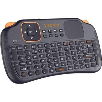 Mini bezdrôtová klávesnica s touchpadom